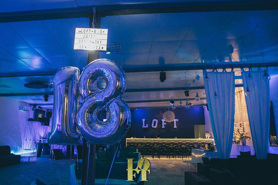 festa 18 anni the loft