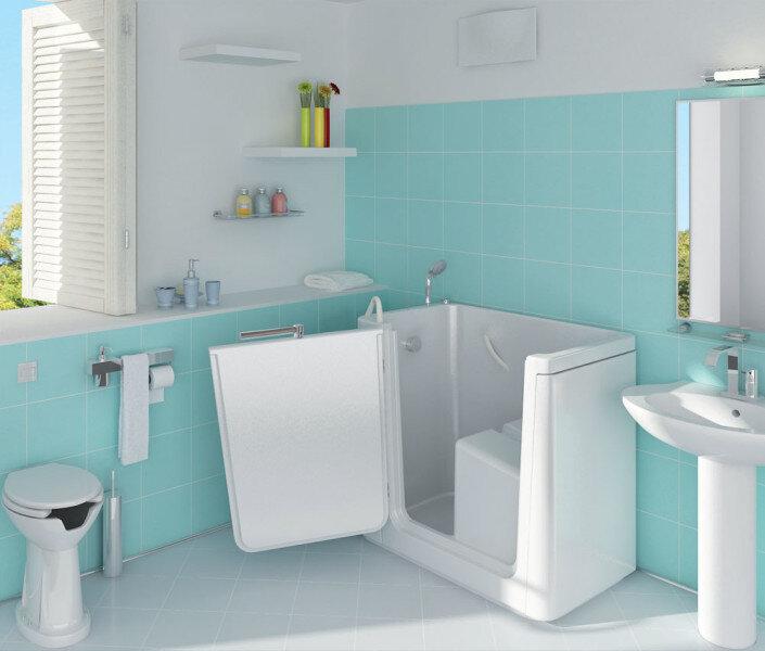 Vasche da bagno per anziani e disabili livers2000 - Vasche da bagno per anziani ...